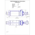 Гидроцилиндр ЦГ-100:40х200.01