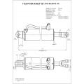 Гидроцилиндр ЦГ-100.40х400.01-05