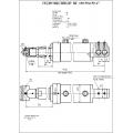 Гидроцилиндр ЦГ-100.50х150.17