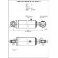 Гидроцилиндр ЦГ-100.50х200.11