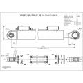 Гидроцилиндр ЦГ-80.50х1090.11-01