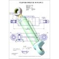 Гидроцилиндр ЦГ-80.50х280.11