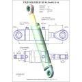 Гидроцилиндр ЦГ-80.50х400.11-01