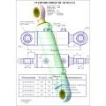 Гидроцилиндр ЦГ-80.50х1000.11
