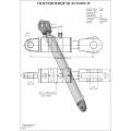Гидроцилиндр ЦГ-80.50х800.18