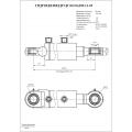 Гидроцилиндр ЦГ-80.56х280.11-05