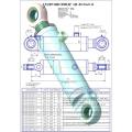 Гидроцилиндр ЦГ-80.56х390.11