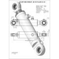 Гидроцилиндр ЦГ-80.56х400.11-01