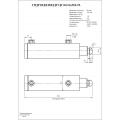 Гидроцилиндр ЦГ-80.56х500.55