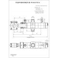 Гидроцилиндр ЦГ-95.65х1170.31